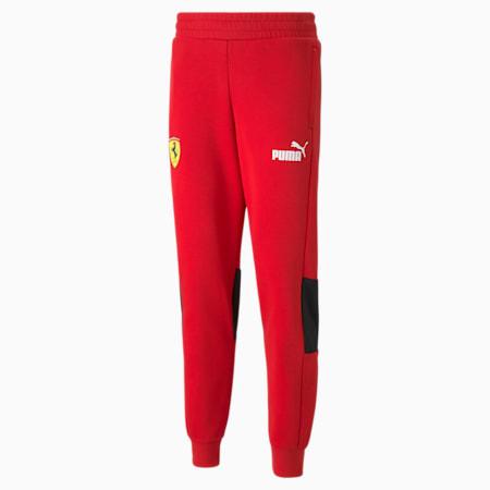 Pantalones deportivos Scuderia Ferrari Race SDS para hombre, Rosso Corsa, pequeño