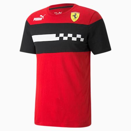 Camiseta Scuderia Ferrari Race SDS para hombre, Rosso Corsa, pequeño