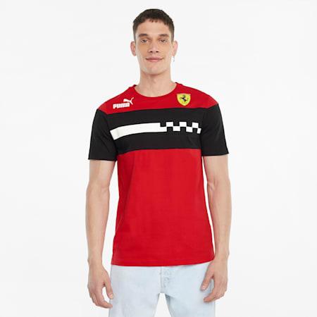 Scuderia Ferrari Race SDS Men's Tee, Rosso Corsa, small-SEA