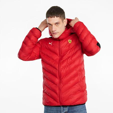 Scuderia Ferrari Race T7 EcoLite Men's Jacket, Rosso Corsa, small