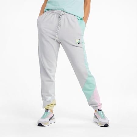 푸마 International 트랙 팬츠/Puma INTL Track Pants, Gray Violet, small-KOR