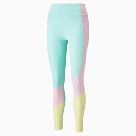 Leggings con cintura alta PUMA International para mujer, Beach Glass, pequeño