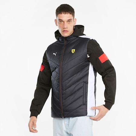 Scuderia Ferrari Race Padded Men's Vest, Puma Black, small