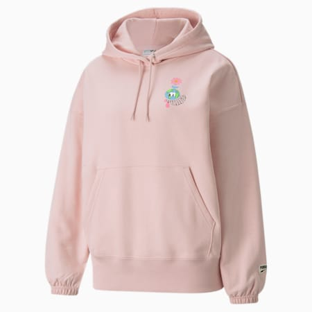 Downtown Graphic Women's Hoodie, Lotus, small