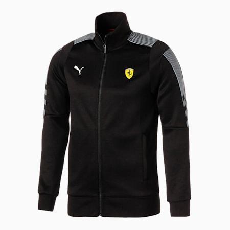Scuderia Ferrari Race T7 Men's Track Jacket, Puma Black, small-SEA