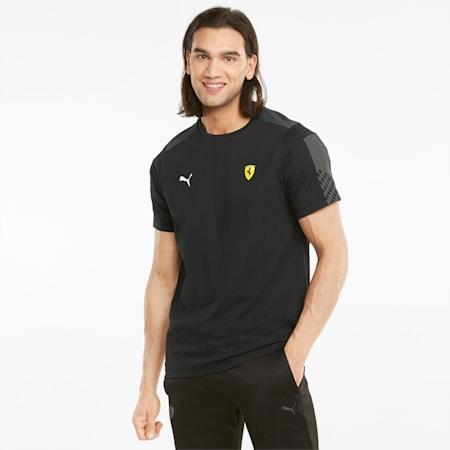 Scuderia Ferrari Race T7 T-shirt voor heren, Puma Black, small