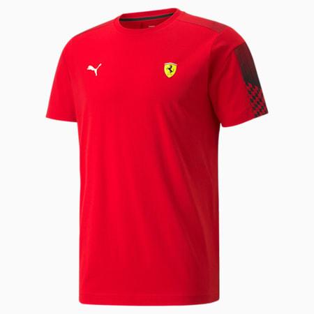T-shirt Scuderia Ferrari Race T7 Homme, Rosso Corsa, small