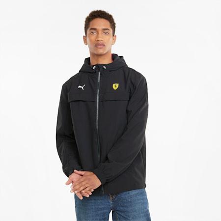 페라리 Race Softshell 재킷/Ferrari Race Sftshell Jacket, Puma Black, small-KOR