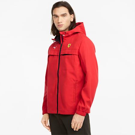 Scuderia Ferrari Race Softshell Men's Jacket, Rosso Corsa, small-GBR