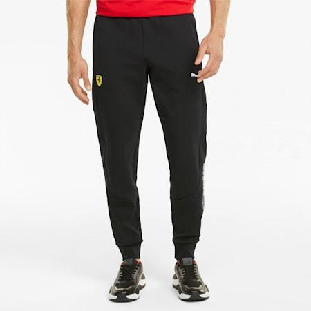 Scuderia Ferrari Race Men's Sweatpants, Puma Black, small-SEA