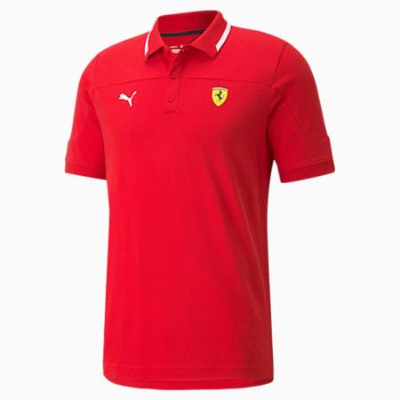 Polo Scuderia Ferrari Race, homme, Rosso corsa, petit