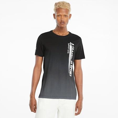 Camiseta estampada Scuderia Ferrari Race para hombre, Puma Black, pequeño