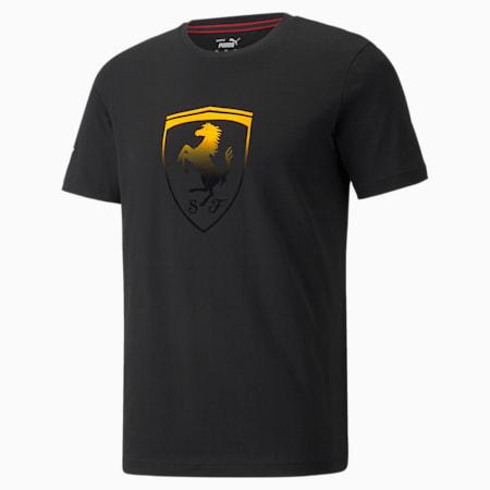 Camiseta Scuderia Ferrari Race Big Shield para hombre+, Puma Black, pequeño