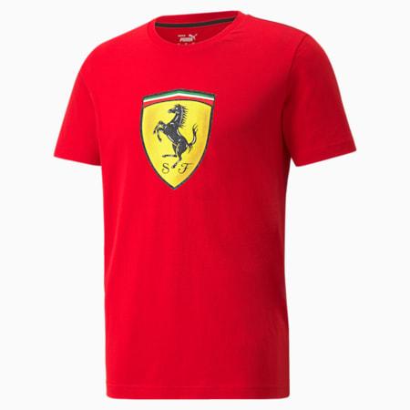 페라리 Race Bold Colour Shield 티셔츠/Ferrari Race Col B ShieldTee, Rosso Corsa, small-KOR