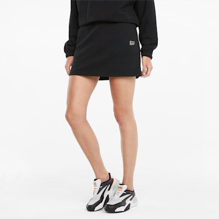 Downtown Women's Skirt, Puma Black, small-SEA