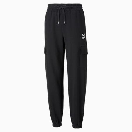 Pantalones deportivosCLSX Cargo para mujer, Puma Black, pequeño