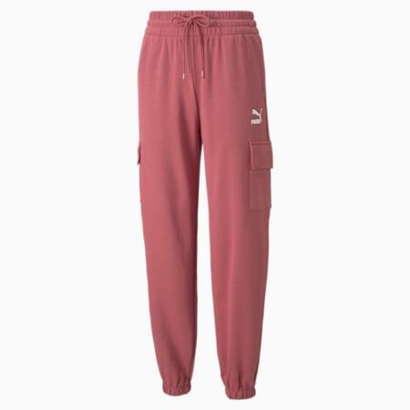 Pantalones deportivosCLSX Cargo para mujer, Mauvewood-BHeights, pequeño