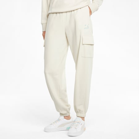 CLSX Cargo Damen Sweatpants, Ivory Glow-Gloaming, small