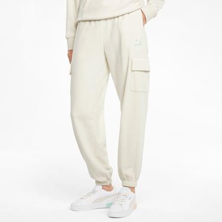 Pantaloni cargo CLSX donna, Ivory Glow-Gloaming, small