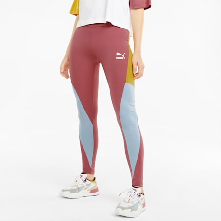 Mallas de cintura alta para mujer CLSX, Mauvewood-BHeights, small