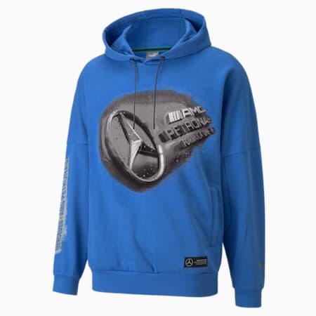 Kangourou Mercedes F1 Street, homme, Bleu incroyable, petit