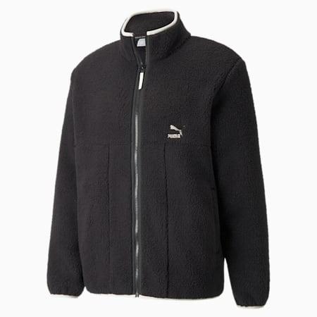 CLSX Sherpa Men's Jacket, Puma Black, small