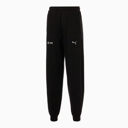 Mercedes F1 Street Men's Sweatpants, Puma Black, small-GBR