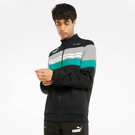 Mercedes F1 SDS Men's  Jacket, Puma Black, small-GBR
