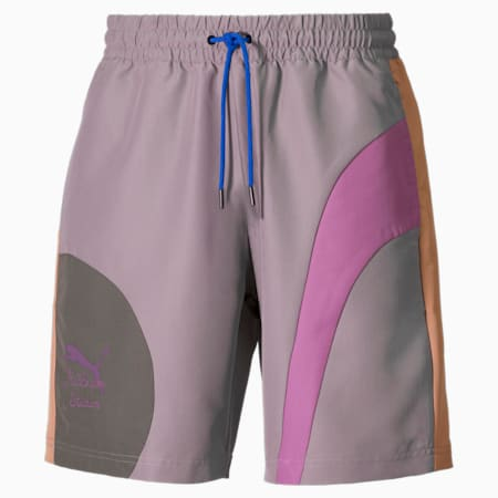 Shorts in tessuto PUMA x KidSuper uomo, Storm Front, small