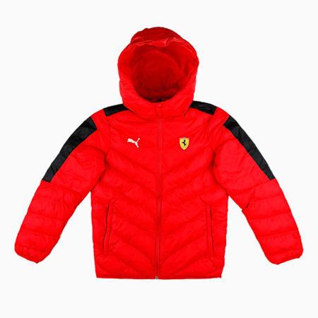 Ferrari Race T7 Kid's Down Jakcet, Rosso Corsa, small-IND