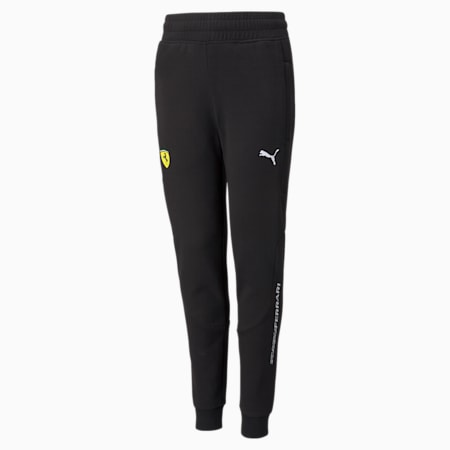 Scuderia Ferrari Race Youth Sweatpants, Puma Black, small-SEA
