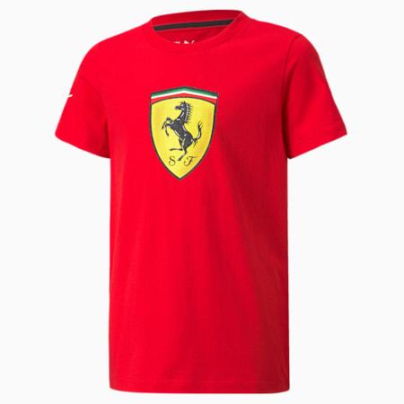 Camiseta Scuderia Ferrari Race para niño grande, Rosso Corsa, pequeño