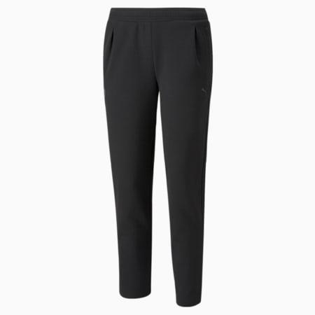 Scuderia Ferrari Style Women's Sweatpants, Puma Black, small-GBR