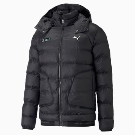 Mercedes F1 Ready to React EcoLite Men's  Jacket, Puma Black, small-GBR