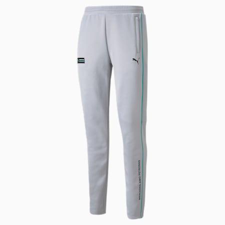 Mercedes F1 T7 Slim Men's  Track Pants, Mercedes Team Silver, small-GBR