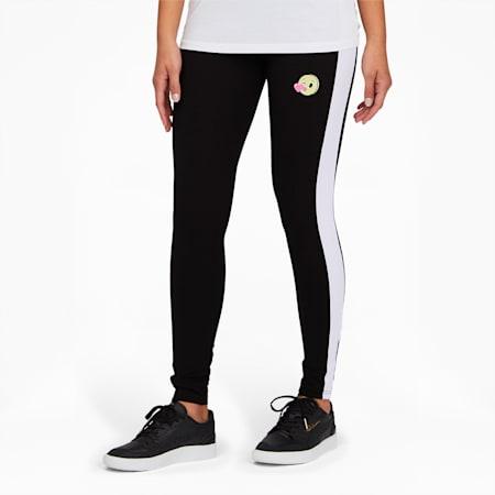 PUMA x emoji® Women's Leggings, Cotton Black-Puma White, small
