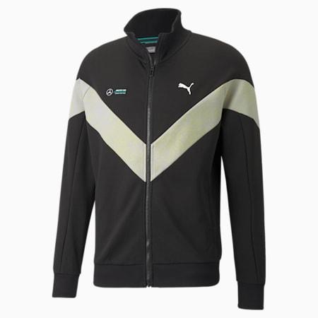 메르세데스 F1 MCS 스웨트 재킷/MAPF1 MCs Sweat Jacket, Puma Black, small-KOR