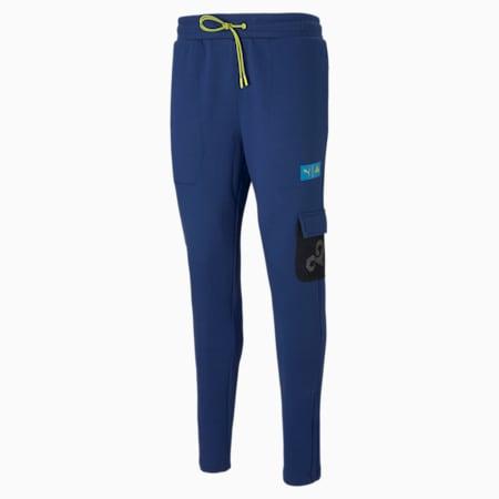Męskie spodnie esportowe PUMA x CLOUD9 Overpowered, Elektro Blue, small