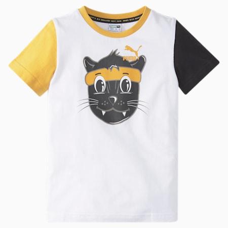 LIL PUMA Kids' Tee, Puma White, small-SEA