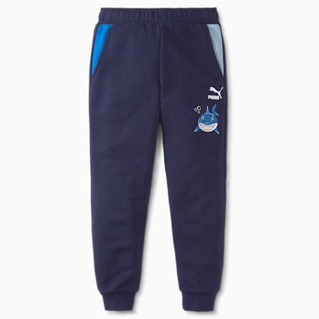 Pantalons en molleton LIL PUMA, enfant, Bleu , petit