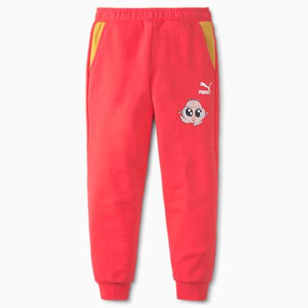 LIL PUMA Kids' Sweatpants, Paradise Pink, small-SEA