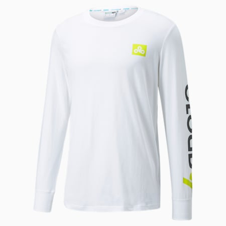PUMA x CLOUD9 Carry On Men's Esports Tee, Puma White, small-GBR