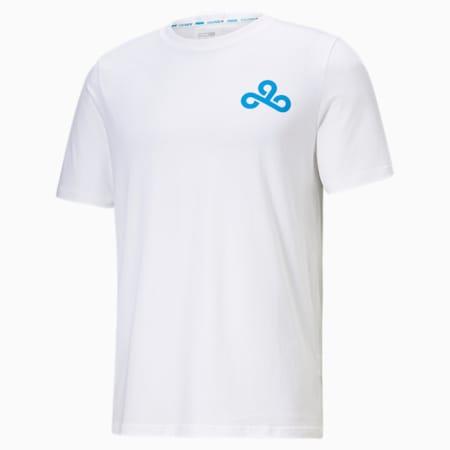 PUMA x CLOUD9 Dive e-sports-shirt heren, Puma White, small