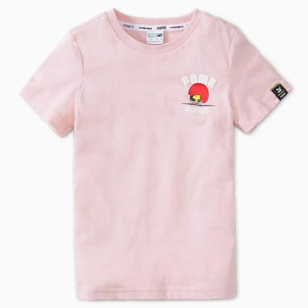 T-shirt PUMA x PEANUTS, enfant, Lotus, petit