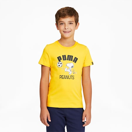 T-shirt PUMA x PEANUTS, enfant, Maïs, petit