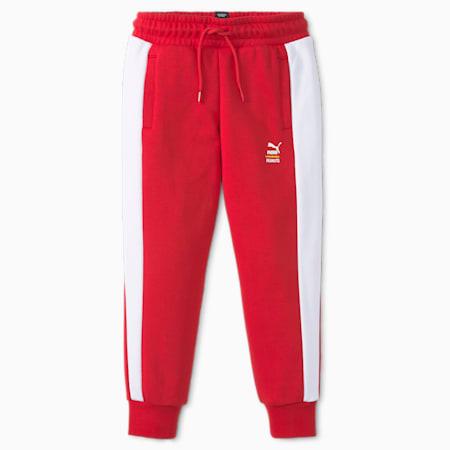 Pantalones deportivos T7 PUMA x PEANUTS para niños, Urban Red, pequeño