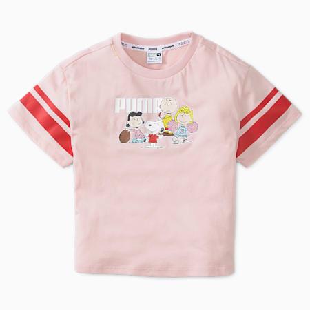 Dziecięcy T-shirt PUMA x PEANUTS, Lotus, small