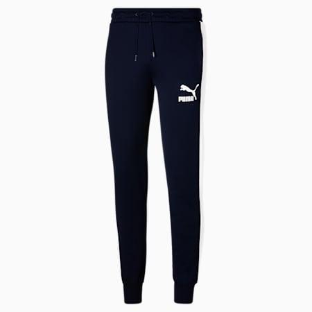 Pantalones deportivos Iconic T7 para hombre, Peacoat, pequeño