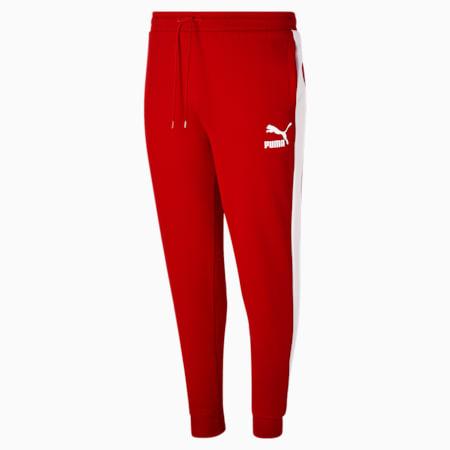Pantalones deportivos Iconic T7 BT para hombre, High Risk Red, pequeño