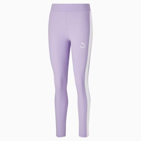 Leggings Iconic T7 para mujer, Light Lavender, pequeño